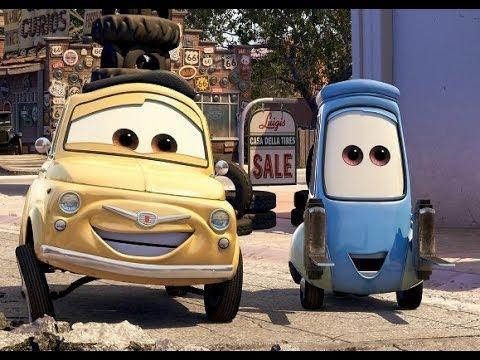 Luigi & Guido, Cars, Disney, Pixar, Mattel, Unboxing, Toy Surprise, Toys, 玩具, おもちゃ - YouTube