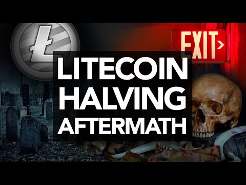 BREAKING: Litecoin Halving Pump!. But It's A DEAD Coin? Time To Exit Into BTC!!