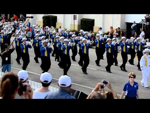 The Pride of the Dakotas at the 2011 Fresh from Florida Parade