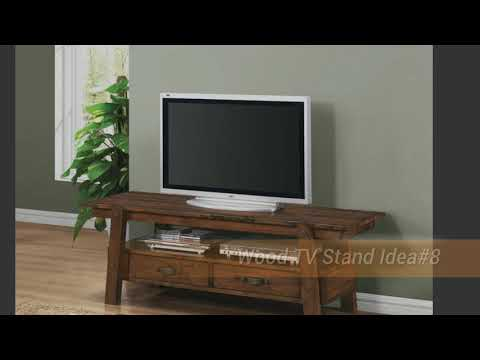 10 Wood TV Stand Ideas