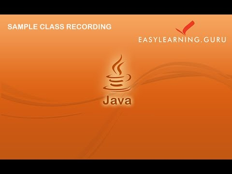 java-tutorial-for-hadoop-beginner- -java-tutorial- easylearning-guru