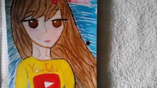 ВидеоУрок#2! Как рисовать губы!