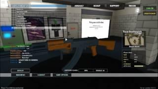 Roblox Phantom Forces RPK Gameplay
