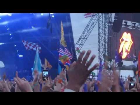 The Rolling Stones - Intro GLASTONBURY 2013