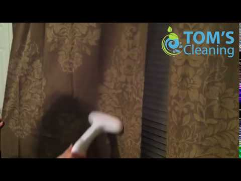 How To Steam Clean Curtains