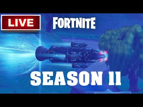 THE ROCKET LAUNCH!!!! SEASON 11 LAUNCH!! (NEW ISLAND???) FORTNITE BATTLE ROYALE