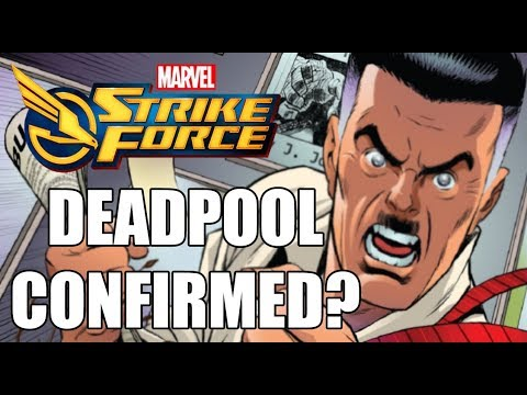 Marvel Strike Force Deadpool, X-men And Fantastic Four
