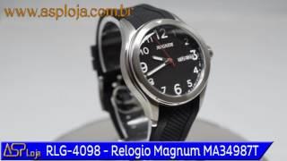 2d5b8feede4 RLG 4098 Relogio Magnum Masculino Analógico MA34987T ...