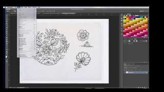 Turning a drawing into a vector