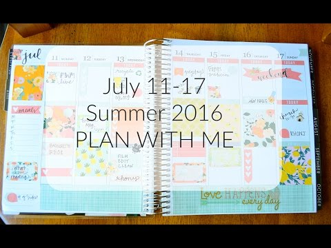 PLAN WITH ME - Summer 2016 ft. Planning Faith || Life With Sarah