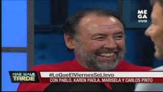 """""""Súper Hoyo"""" y Marisela Santibáñez cuentan chistes en Más Vale Tarde"""