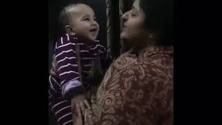 Baby laughing sound