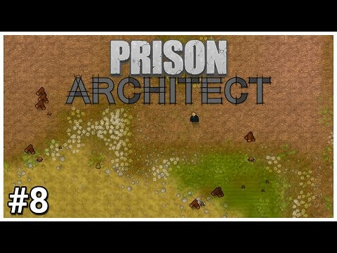 Prison Architect - #8 - Flatland - Let's Play / Gameplay / Construction