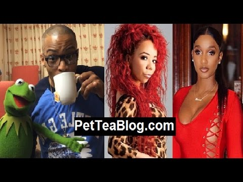 T.I. says Tiny vs Bernice Burgos is NONE OF HiS BUSiNESS 🐸☕️