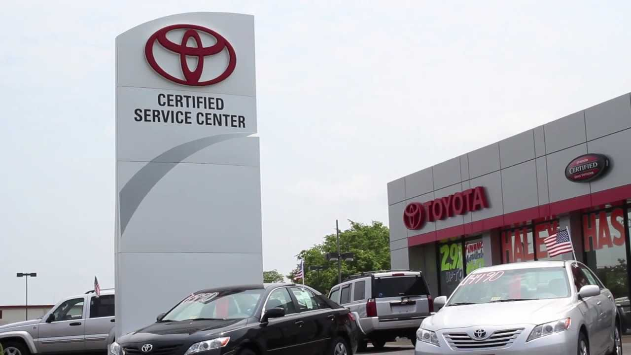 Haley Toyota Certified Center Explains Why Choose Us   Richmond VA