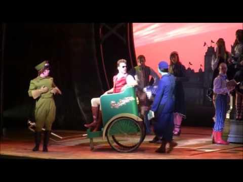 Lustige Momente in Musicals