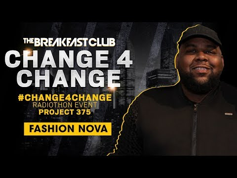 Ernest Dukes From Fashion Nova Talks Cardi B's New Line & Donates $25,000 For #Change4Change