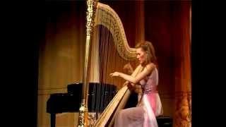 Erdely International Harp Competition Winner's concert. Vasilisa Lushchevskaya ZABEL Fantaisie