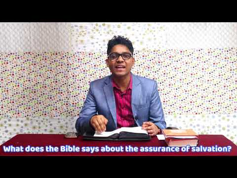 What does the Bible says about the assurance of salvation?   Rohingya language
