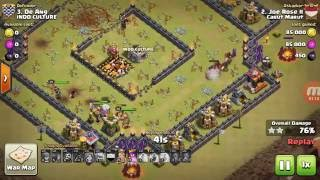 Clash of Clans TH10 GoValks 3 Star Attack part 2