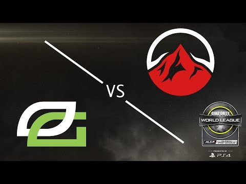 OpTic Gaming vs Elevate - CWL Global Pro League - Group Green - Day 2