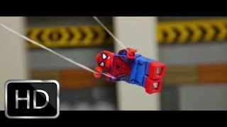 Lego Captain America Civil War Spider-Man Tv Spot shot for shot recreation