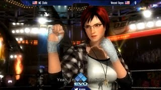 EVO 2015 MC Static (Rachel) Vs Vincent Rayne (Mila)