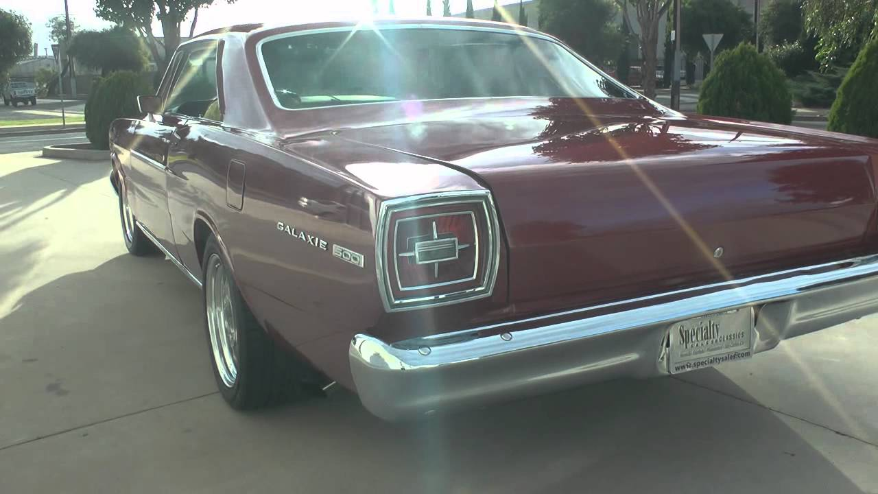 1966 ford galaxie fastback 390 5 speed youtube sciox Choice Image