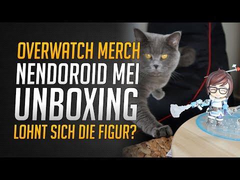 NENDOROID MEI UNBOXING   Lohnt sich die Mei Figur?   Overwatch Merchandise ★ Overwatch Deutsch