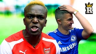 KSI and Hurder Of Buffalo's Epic Bin Challenge! Community Shield Special | Rule