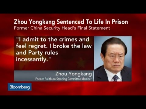 China's Zhou Jailed for Life After Secret Trial