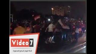 المصريون فى البحرين يحتفلون بنهاية العرس الديمقراطى