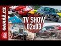 GARÁ?.cz 02x03 - Aro M461, Alpina B7 Turbo S, Mitsubishi Eclipse Cross a Autogalerie JM