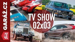 GARÁŽ.cz 02x03 - Aro M461, Alpina B7 Turbo S, Mitsubishi Eclipse Cross a Autogalerie JM