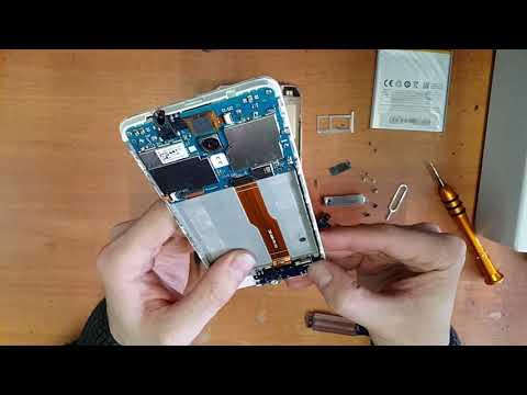 MEIZU M5S замена аккумулятора и ремонт заряда
