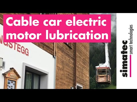 Lubricate The Electric Motor Of A Cable Car