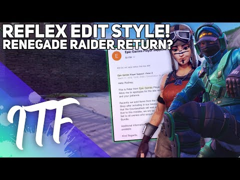 Reflex Special Edit Style, Renegade Raider Coming Back? (Fortnite Battle Royale) thumbnail