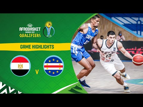 Egypt - Cape Verde | Highlights - FIBA AfroBasket 2021 Qualifiers
