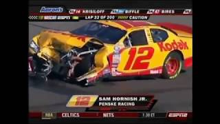 All NASCAR Crashes from Phoenix 2007 (Busch)