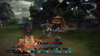 Tera MMO gameplay PS4
