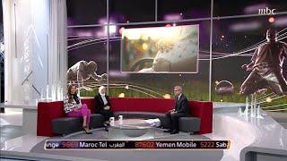 كلمات مصطفى الآغا وتقرير عن عيد الأم في بداية حلقة صدى الملاعب