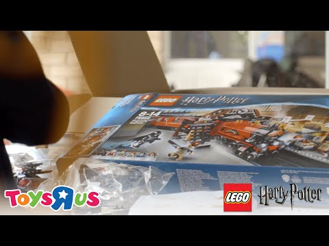 LEGO Harry Potter - Lachlan Opens His Dream Set From Toys