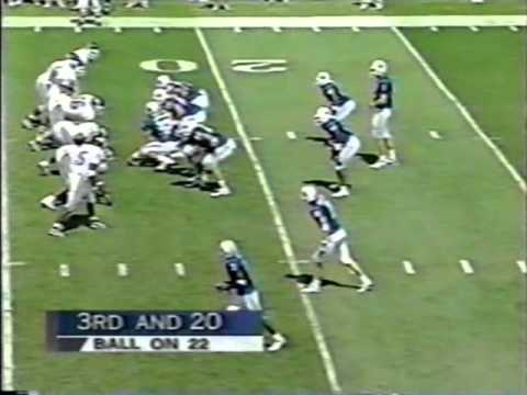 Tim Couch vs  EKU 1998