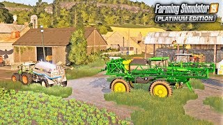 LET'S LIGHT THIS FARM UP! - Shamrock Valley 19 - Farming Simulator 2019
