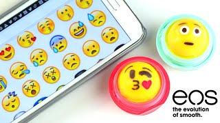 diy emoji eos lip balm   sofiastyled