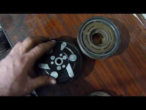 Замена муфты компрессора кондиционера шкода октавия