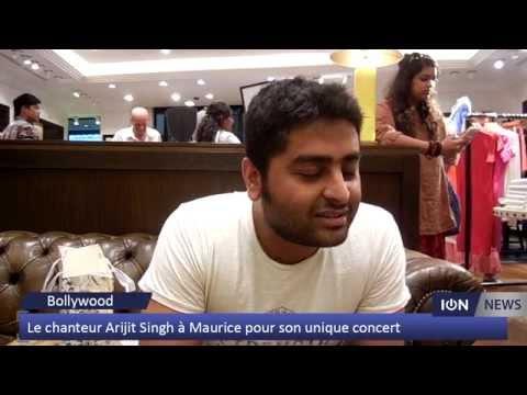 Le chanteur Arijit Singh à Maurice pour son unique concert