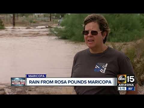 Maricopa hit hard by Rosa's rainfall