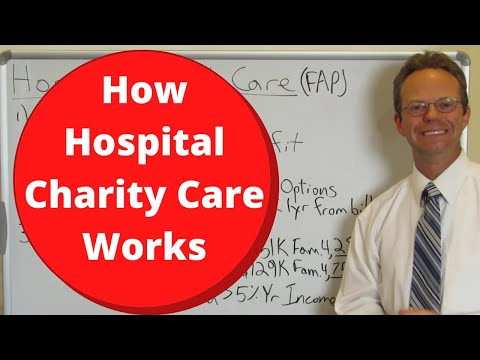 How Hospital Charity Care Works