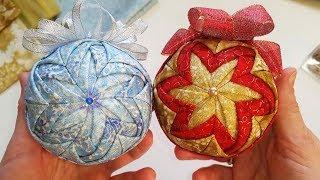 МК: Новогодний шар «ВИХРЬ» в технике АРТИШОК